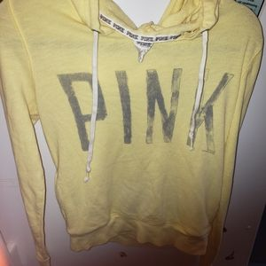 (FREE over $30) PINK by VS   lightweight sweater.